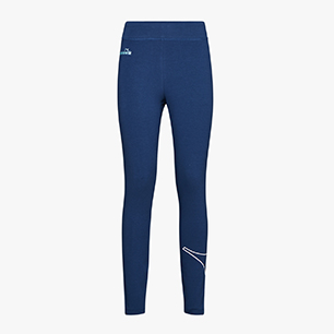 L.LEGGINGS LOGO, BLUE QUARTZ, medium
