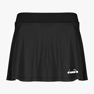 L. SKIRT EASY TENNIS, BLACK, medium