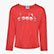JG.LS T-SHIRT 5PALLE, GERANIUM RED, swatch