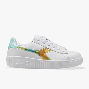 GAME STEP RAINBOW GS, WHITE/BLUE TINT, medium