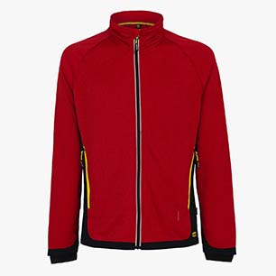 SWEAT FZ TRAIL ISO 13688:2013, ROUGE FERRARI ITALIE, medium