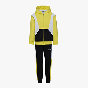 JB. TRACKSUIT HD FZ DIADORA CLUB, CELANDINE, medium