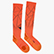 SOCKS OVER THE CALF, LIGHT ORANGE FLUO, swatch