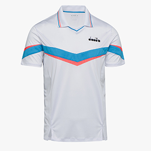 POLO SS, OPTICAL WHITE, medium