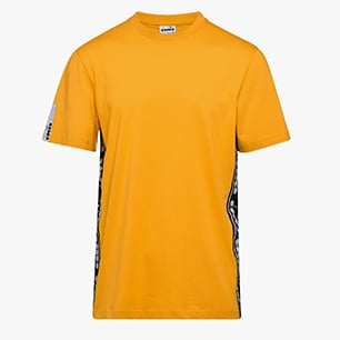 T-SHIRT SS TROFEO, ORANGE MUSTARD, medium