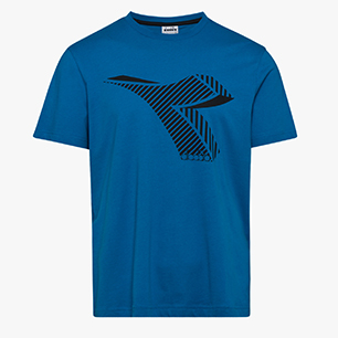 T-SHIRT SS FREGIO CLUB, MYKONOS BLUE, medium