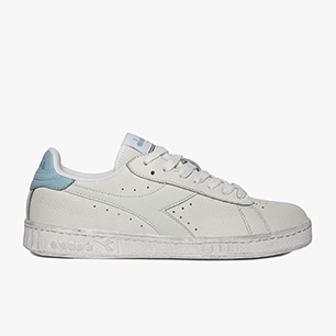 GAME L LOW WAXED, WHITE/AQUATIC, medium