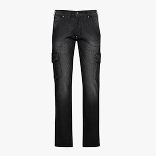 PANT STONE CARGO, NEW BLACK WASHING, medium