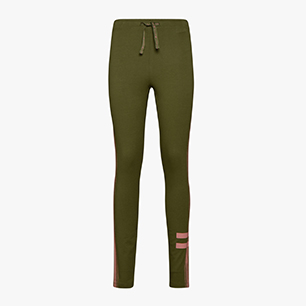L. LEGGINGS BLKBAR, WINTER MOSS, medium