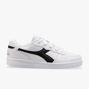 PLAYGROUND GS, WHITE/BLACK/ASH, medium