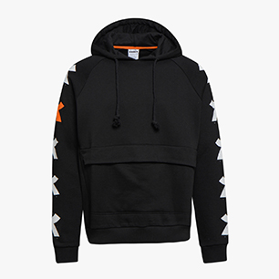 HOODIE ONE, BLACK, medium