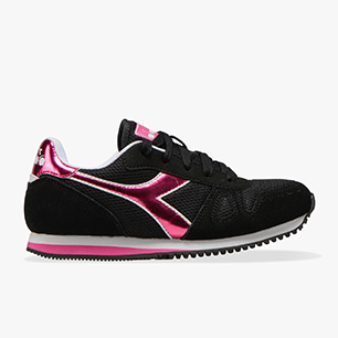 SIMPLE RUN GS GIRL, NEGRO, medium