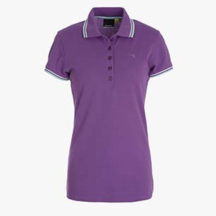 L.POLO SS PQ, VIOLET BERRY (55206), medium