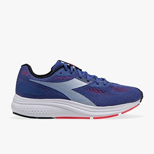 KURUKA 4, ROYAL BLUE/FLUO LAVA/WHITE, medium