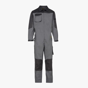 COVERALL POLY ISO 13688:2013, STEEL GREY, medium