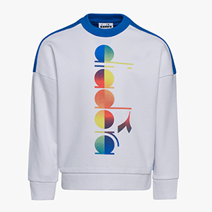 JB.SWEATSHIRT CREW DIADORA CLUB, BLANCO ÓPTICO, medium