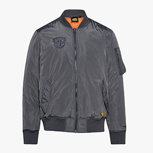 BOMBER D-FLIGHT ISO 13688:2013, GREY PLUM, medium