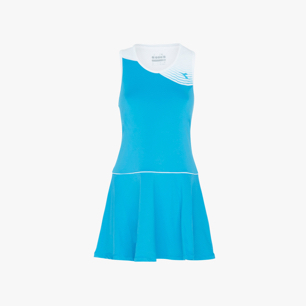 L. DRESS COURT, BLEU FLUORESCENT, medium