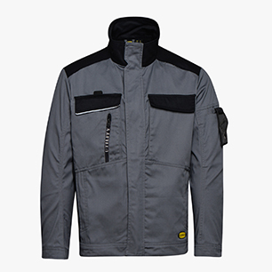 WW JKT EASYWORK LIGHT ISO 13688:2013, STEEL GREY, medium