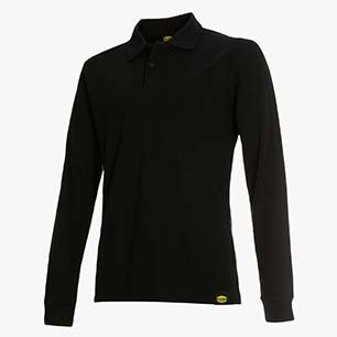 POLO ML ATLANTIS II, BLACK, medium