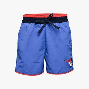 JU.BEACH SHORT FREGIO, BLUE PERSIA, medium