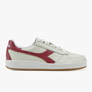 B.ELITE L, WHITE/TIBETAN RED, medium