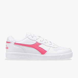 PLAYGROUND GS GIRL, WHITE/HOT PINK, medium