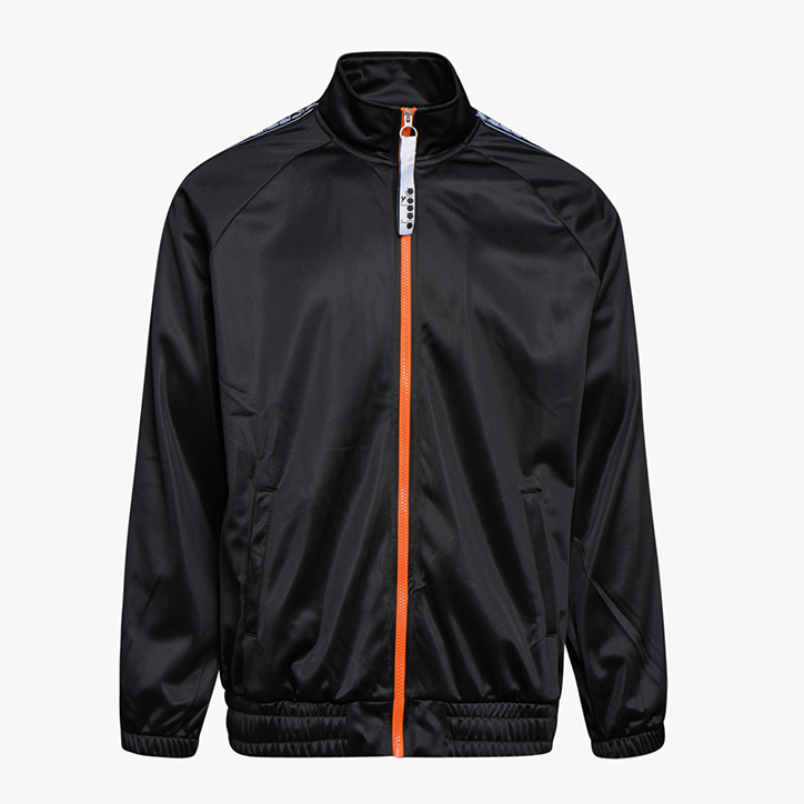 TRACK JACKET TROFEO, NERO, large