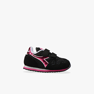 SIMPLE RUN TD GIRL, NEGRO, medium