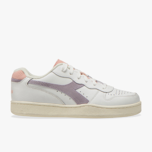 MI BASKET LOW ICONA WN, WHITE/NIRVANA/EVENING SAND, medium