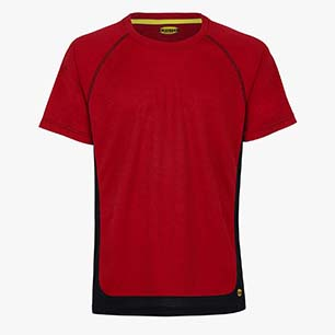 T-SHIRT TRAIL SS ISO 13688:2013, ROUGE FERRARI ITALIE, medium