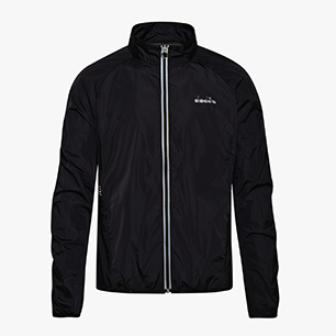 L. WINDBREAKER JACKET, BLACK, medium