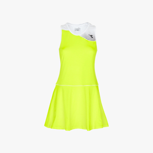 L. DRESS COURT, JAUNE, medium