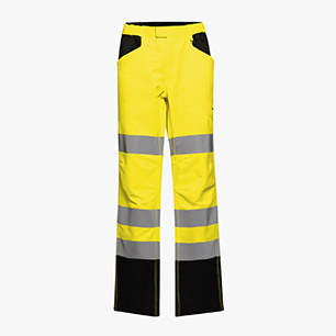HV PANT CARGO ISO 20471, FLUORESCENT YELLOW, medium
