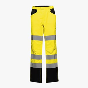 HV PANT CARGO ISO 20471, AMARILLO FLUORESCENTE, medium