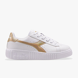 GAME STEP GS, WHITE/GOLD, medium