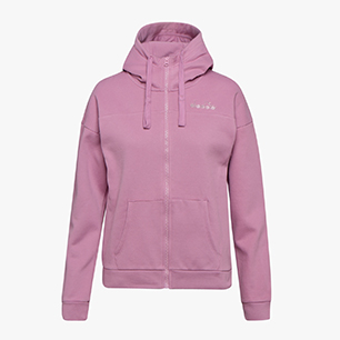 L.HD FZ SWEAT CHROMIA, PINK MAUVE ORCHID, medium