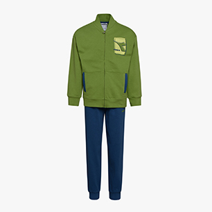 JU. TRACKSUIT ELEMENTS, GREEN  HILL, medium