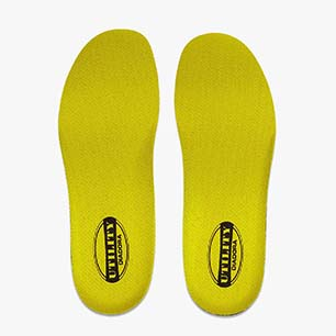INSOLE TRAIL, YELLOW/BLACK, medium
