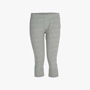 L.LEGGINS 3/4 STC, LIGHT MIDDLE GREY MELANGE, medium