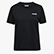 L.SS T-SHIRT LOGO, BLACK, swatch