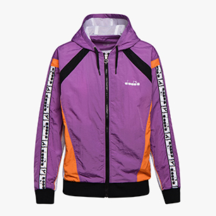 L. FZ HD JACKET, VIOLET ZIRCON, medium