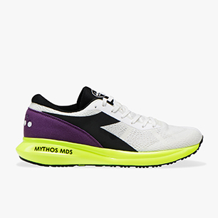 MYTHOS MDS, WHITE/BLACK/YELLOW FLUO, medium