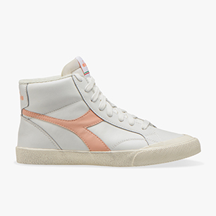 MELODY MID LEATHER DIRTY, WHITE/PEACH PARFAIT, medium