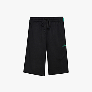 BERMUDA OFFSIDE, BLACK/HOLLY GREEN, medium