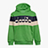 JB.HOODIE SWEAT 5PALLE, FRESH GREEN, swatch