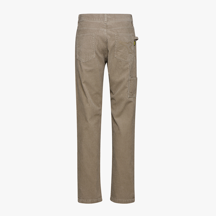 WINTER PANT CORDUROY ISO 13688:2013, BEIGE, large