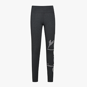 L. STC LEGGINGS BE ONE, GRAY MELANGE MIDDLE, medium