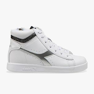 GAME P HIGH GIRL GS, WHITE /BLACK, medium