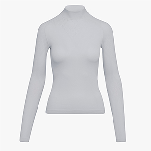 L. TURTLE NECK ACT, OPTICAL WHITE, medium